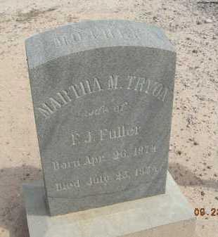 TRYON FULLER, MARTHA M - Graham County, Arizona | MARTHA M TRYON FULLER - Arizona Gravestone Photos