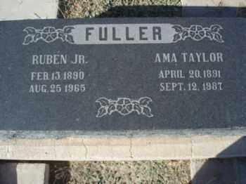 FULLER, RUBEN WALTER, JR. - Graham County, Arizona | RUBEN WALTER, JR. FULLER - Arizona Gravestone Photos