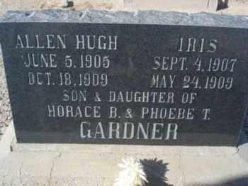 GARDNER, IRIS - Graham County, Arizona | IRIS GARDNER - Arizona Gravestone Photos