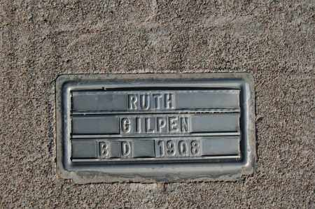 GILPEN, RUTH - Graham County, Arizona | RUTH GILPEN - Arizona Gravestone Photos