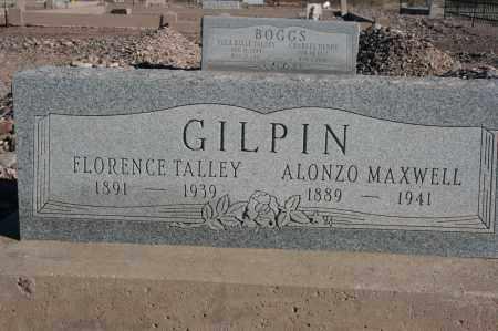 GILPIN, FLORENCE - Graham County, Arizona | FLORENCE GILPIN - Arizona Gravestone Photos