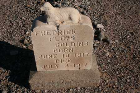 GOLDING, FREDRICK FLOYD - Graham County, Arizona | FREDRICK FLOYD GOLDING - Arizona Gravestone Photos