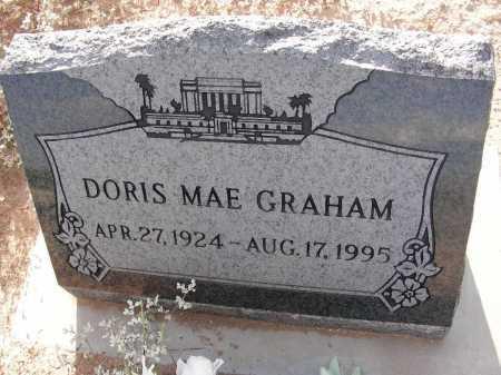 GRAHAM, DORIS MAE - Graham County, Arizona   DORIS MAE GRAHAM - Arizona Gravestone Photos