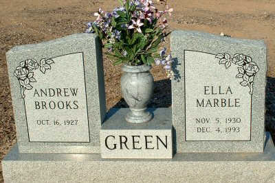 GREEN, ELLA - Graham County, Arizona | ELLA GREEN - Arizona Gravestone Photos