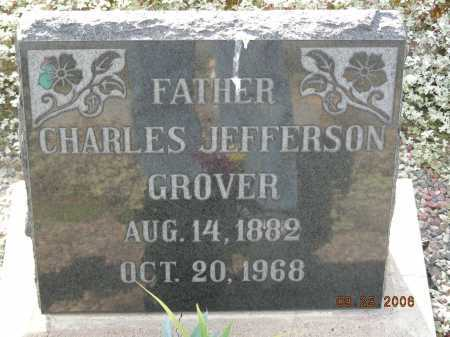 GROVER, CHARLES JEFFERSON - Graham County, Arizona   CHARLES JEFFERSON GROVER - Arizona Gravestone Photos