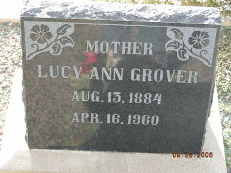 GROVER, LUCY ANN - Graham County, Arizona | LUCY ANN GROVER - Arizona Gravestone Photos