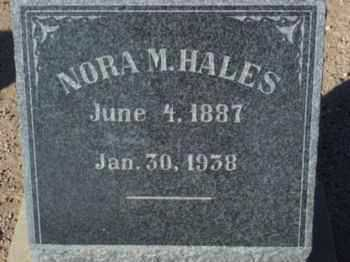 MICKELSON HALES, MINNIE ELNORA (NORA) - Graham County, Arizona | MINNIE ELNORA (NORA) MICKELSON HALES - Arizona Gravestone Photos