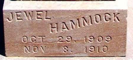 HAMMOCK, JEWEL - Graham County, Arizona   JEWEL HAMMOCK - Arizona Gravestone Photos