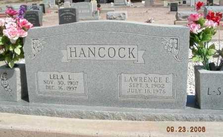 HANCOCK, LELA L - Graham County, Arizona | LELA L HANCOCK - Arizona Gravestone Photos