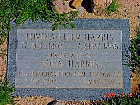EILER HARRIS, LOVINA - Graham County, Arizona | LOVINA EILER HARRIS - Arizona Gravestone Photos