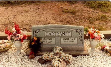 HARTRANFT, RAYMOND - Graham County, Arizona   RAYMOND HARTRANFT - Arizona Gravestone Photos