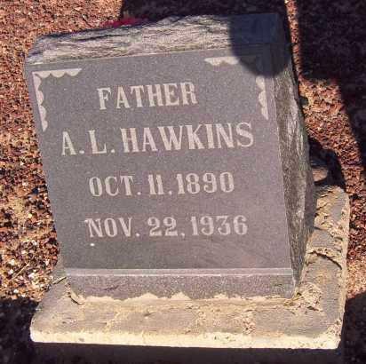 HAWKINS, ABRAHAM LINCOLN - Graham County, Arizona | ABRAHAM LINCOLN HAWKINS - Arizona Gravestone Photos