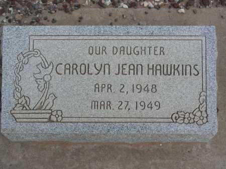 HAWKINS, CAROLYN JEAN - Graham County, Arizona   CAROLYN JEAN HAWKINS - Arizona Gravestone Photos