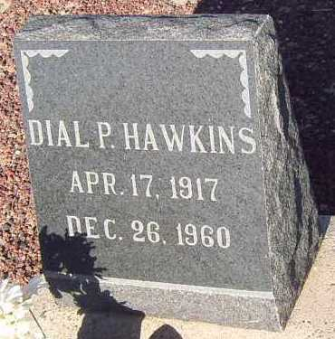 HAWKINS, DIAL PALMER - Graham County, Arizona | DIAL PALMER HAWKINS - Arizona Gravestone Photos