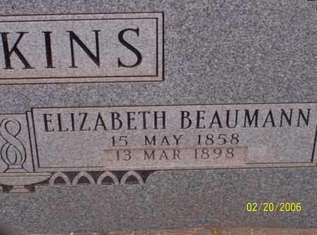 HAWKINS, ELIZABETH - Graham County, Arizona | ELIZABETH HAWKINS - Arizona Gravestone Photos