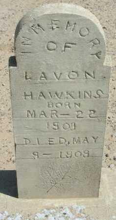 HAWKINS, LAVON - Graham County, Arizona   LAVON HAWKINS - Arizona Gravestone Photos