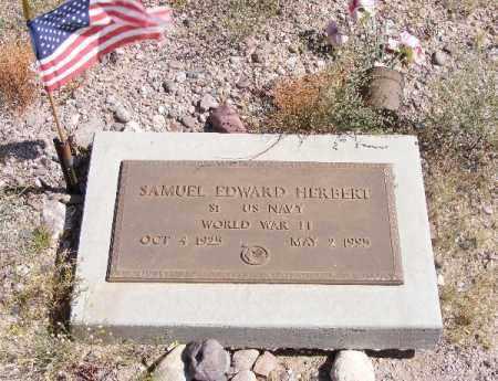 HERBERT, SAMUEL EDWARD - Graham County, Arizona | SAMUEL EDWARD HERBERT - Arizona Gravestone Photos