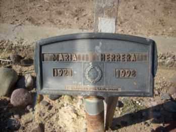 HERRERA, MARIA - Graham County, Arizona | MARIA HERRERA - Arizona Gravestone Photos