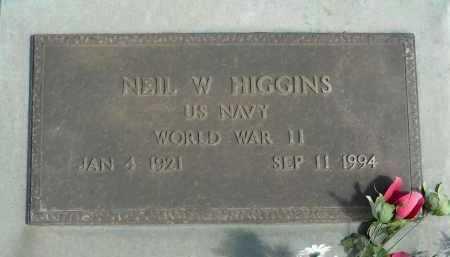 HIGGINS, NEIL W. - Graham County, Arizona | NEIL W. HIGGINS - Arizona Gravestone Photos