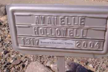ARMSTRONG HOLLOWELL, LORA AVANELLE - Graham County, Arizona | LORA AVANELLE ARMSTRONG HOLLOWELL - Arizona Gravestone Photos