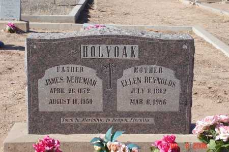 HOLYOAK, JAMES NEHEMIAH - Graham County, Arizona   JAMES NEHEMIAH HOLYOAK - Arizona Gravestone Photos