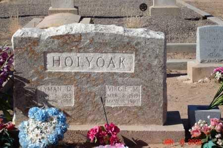 HOLYOAK, VIRGIE M. - Graham County, Arizona | VIRGIE M. HOLYOAK - Arizona Gravestone Photos
