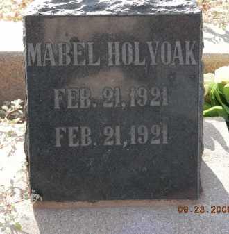 HOLYOAK, MABEL - Graham County, Arizona | MABEL HOLYOAK - Arizona Gravestone Photos