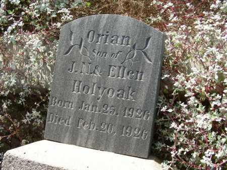 HOLYOAK, ORIAN - Graham County, Arizona   ORIAN HOLYOAK - Arizona Gravestone Photos