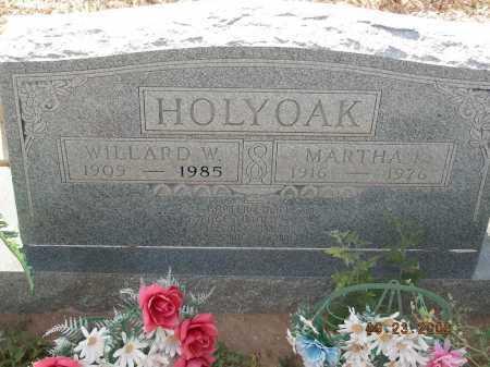 HOLYOAK, WILLARD W - Graham County, Arizona   WILLARD W HOLYOAK - Arizona Gravestone Photos