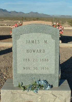 HOWARD, JAMES M. - Graham County, Arizona   JAMES M. HOWARD - Arizona Gravestone Photos
