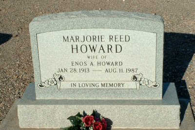 REED HOWARD, MARJORIE - Graham County, Arizona | MARJORIE REED HOWARD - Arizona Gravestone Photos
