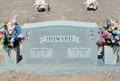 HOWARD, NINA RAGAN - Graham County, Arizona | NINA RAGAN HOWARD - Arizona Gravestone Photos