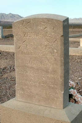 HOWARD, ZENOS A. - Graham County, Arizona | ZENOS A. HOWARD - Arizona Gravestone Photos