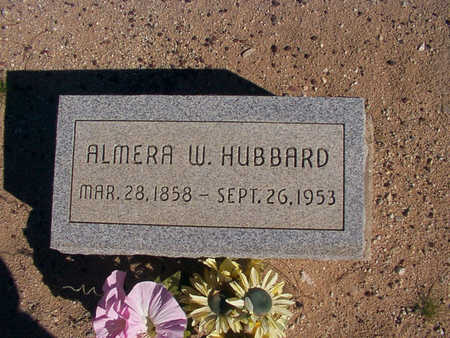 HUBBARD, ALMIRA - Graham County, Arizona | ALMIRA HUBBARD - Arizona Gravestone Photos