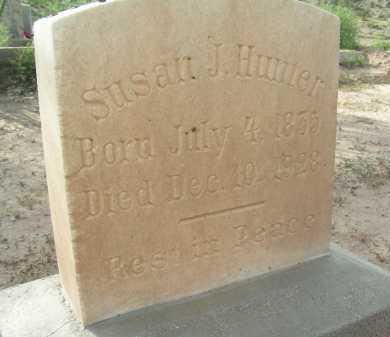 HUNTER, SUSAN J - Graham County, Arizona | SUSAN J HUNTER - Arizona Gravestone Photos