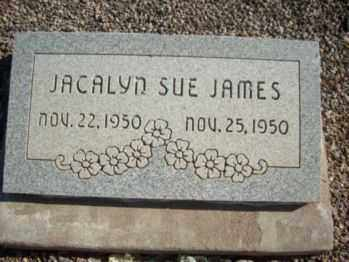 JAMES, JACALYN SUE - Graham County, Arizona | JACALYN SUE JAMES - Arizona Gravestone Photos