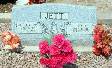 JETT, CLIFFORD WILLIAM - Graham County, Arizona | CLIFFORD WILLIAM JETT - Arizona Gravestone Photos