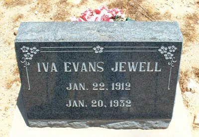 JEWELL, IVA - Graham County, Arizona | IVA JEWELL - Arizona Gravestone Photos