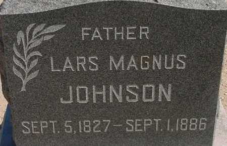 JOHNSON, LARS MAGNUS - Graham County, Arizona | LARS MAGNUS JOHNSON - Arizona Gravestone Photos