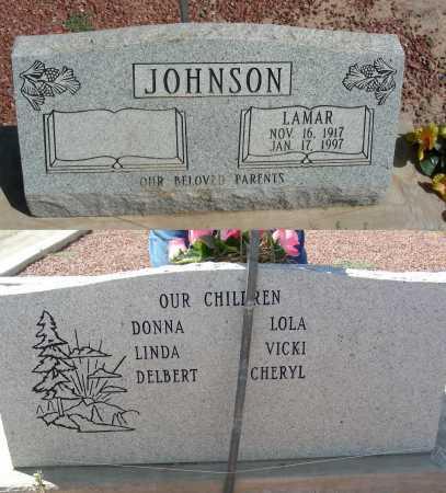 JOHNSON, LAMAR - Graham County, Arizona   LAMAR JOHNSON - Arizona Gravestone Photos