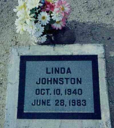 JOHNSTON, LINDA DIANE - Graham County, Arizona   LINDA DIANE JOHNSTON - Arizona Gravestone Photos