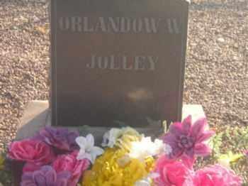 JOLLEY, ORLANDO W. - Graham County, Arizona | ORLANDO W. JOLLEY - Arizona Gravestone Photos