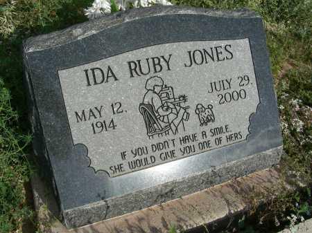 JONES, IDA RUBY - Graham County, Arizona   IDA RUBY JONES - Arizona Gravestone Photos