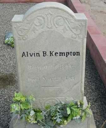 KEMPTON, ALVIN B - Graham County, Arizona | ALVIN B KEMPTON - Arizona Gravestone Photos