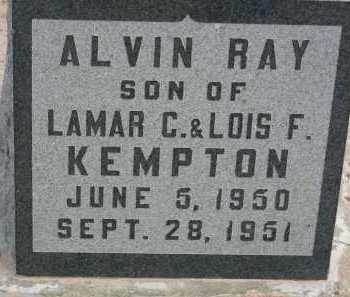 KEMPTON, ALVIN RAY - Graham County, Arizona   ALVIN RAY KEMPTON - Arizona Gravestone Photos