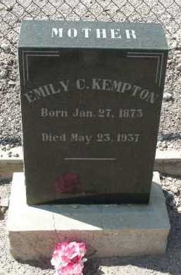 KEMPTON, EMILY C - Graham County, Arizona | EMILY C KEMPTON - Arizona Gravestone Photos
