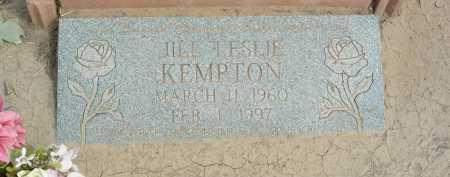 KEMPTON, JILL LESLIE - Graham County, Arizona | JILL LESLIE KEMPTON - Arizona Gravestone Photos