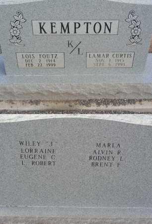 FOUTZ KEMPTON, LOIS - Graham County, Arizona | LOIS FOUTZ KEMPTON - Arizona Gravestone Photos