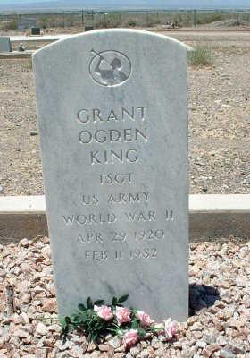 KING, GRANT OGDEN - Graham County, Arizona | GRANT OGDEN KING - Arizona Gravestone Photos