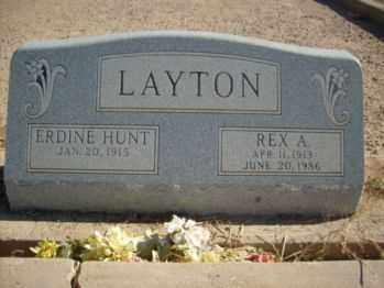 LAYTON, ERDINE - Graham County, Arizona | ERDINE LAYTON - Arizona Gravestone Photos